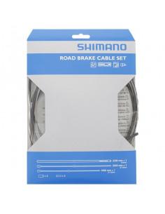 Bromsvajerkit road Shimano svart