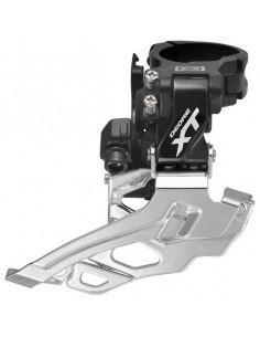 Framväxel Shimano XT M786 10del svart, dubbel, down swing