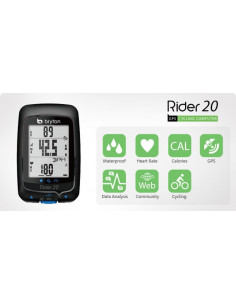 Cykeldator Bryton Rider 20 GPS