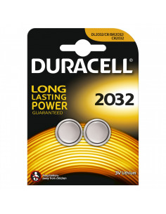 Duracell Plus CR2032 3v Lithium 2-pack