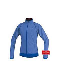 Jacka Gore WS Windstopper Active Shell Blå