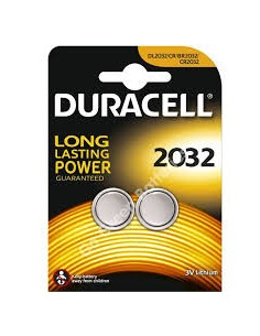 Batteri Duracell plus CR2032 3v lithium 2-pack