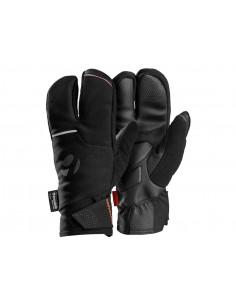 Handske Bontrager Velocis S2 Softshell Svart