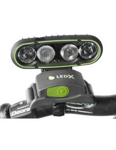 LEDX Fäste För Cykelstyre 22-30mm