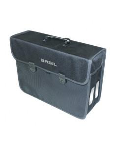 Väska bak Basil Malaga XL Svart 17L