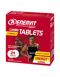 Energi Enervit Carbo Tablets (Karta, 24st )