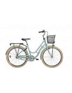 """Cykel Monark Karin 26"""" 3vxl ljusblå, 43 cm"""