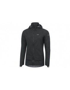 Jacka Gore C5 GORE-TEX active Trail Hooded Dam Svart