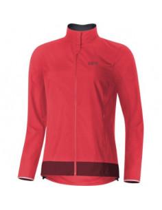 Jacka Gore C3 Women Windstopper Classic Röd