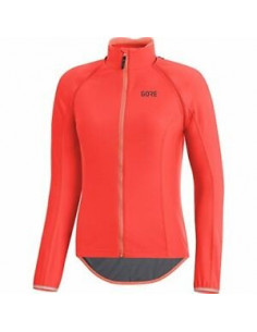 Tröja Lång Gore pro zip-off C5 dam orange