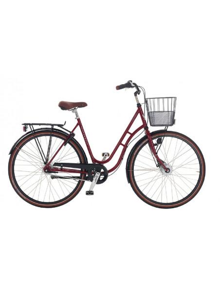 Cykel Skeppshult Natur 2020 Laduröd dam 7-vxl, Stl: 54