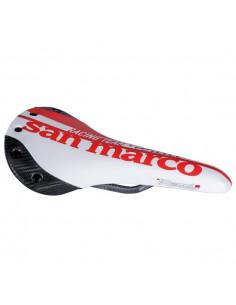 Selle San Marco Regale Carbon FX Racing Team Willier Etd, Röd
