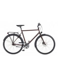 Cykel Skeppshult ELIT 18-vxl HERR - Mahogny matt