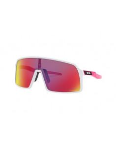 Glasögon Oakley Sutro Matte White/Pink Prizm Road