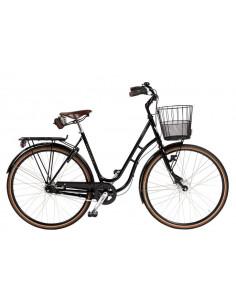 Cykel Skeppshult NATUR PREMIUM DAM, 7-VXL. M. KORG, SPEGELSVART