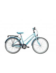 """Cykel Crescent LONE 24"""" ljusblå, 7-VXL"""