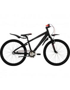 Cykel Crescent Torn 24 Pojk 3-vxl Matt svart