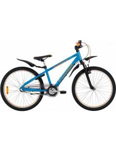 Cykel Crescent Torn 24 Pojk 3-vxl Blå
