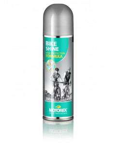 Cykelrengöringsmedel Motorex Bike Shine polish,sprayflaska 300 ml