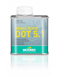 Bromsvätska Motorex Brake Fluid DOT 5.1, burk 250 ml