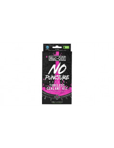 MUC-OFF No Puncture Hassle Tubeless Sealant Kit, 140 ml