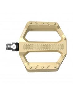 Pedal Shimano PD-EF202 Flat Pedals Explorer guld