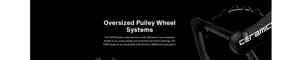 Oversized Pulley Wheel Systems